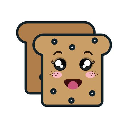 bread vector illustration design