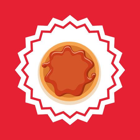 bakery food menu icon vector illustration design