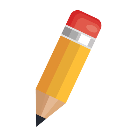 pencil school supply isolated icon vector illustration design