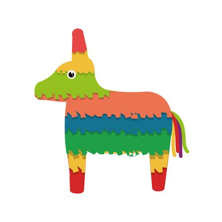 pinata: mexican icon isolated vector illustration design