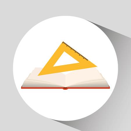 squad: book open concept school squad graphic vector