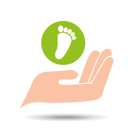 environment friendly concept live vector illustration
