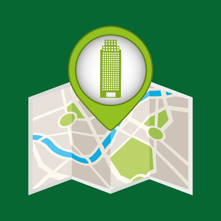 building structure ecology icon vector illustration Illustration