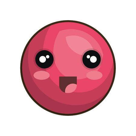 emoticon  style icon vector illustration design