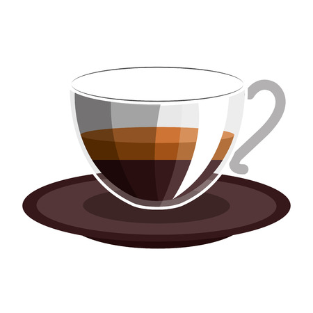 delicious coffee drink isolated icon vector illustration design