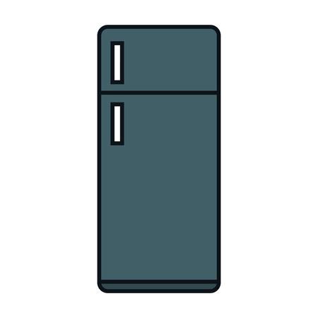 appliance: fridge appliance isolated icon vector illustration design