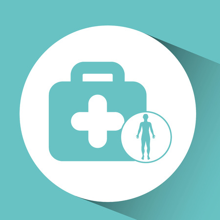 unconscious: silhouette person medical first aid icon design vector illustration