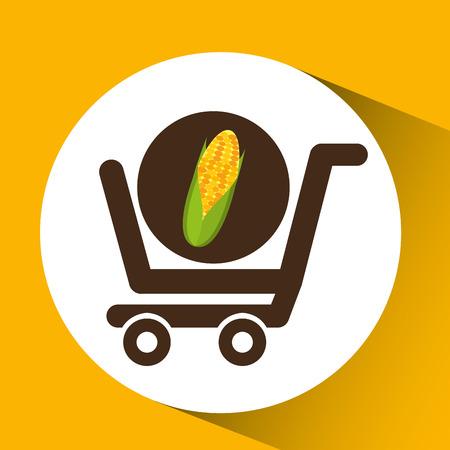 cob: cart buy cob icon design vector illustration eps 10