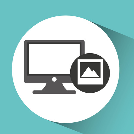 pc monitor: technology monitor pc image photo graphic vector