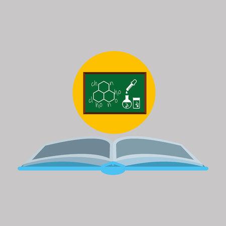 laboratory board icon vector