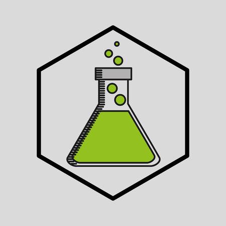 filled: flask filled element laboratory