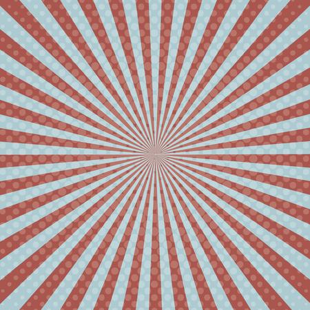 pop art burst achtergrond. kleurrijk ontwerp. vector illustratie
