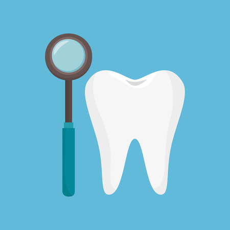 odontology tooth tool icon vector illustration eps 10 Illustration