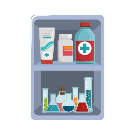 medical equipment: first aid kit medical equipment vector illustration eps 10
