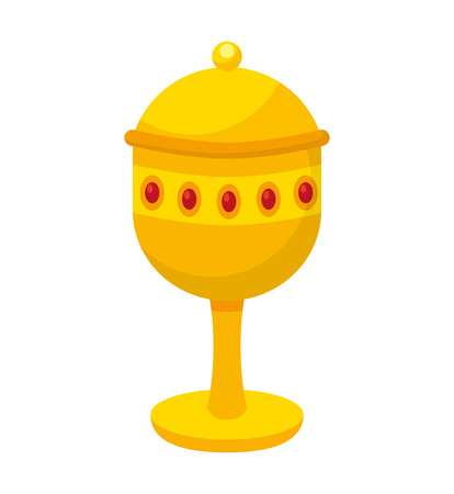 chalice: chalice cup gift epiphany vector illustration design