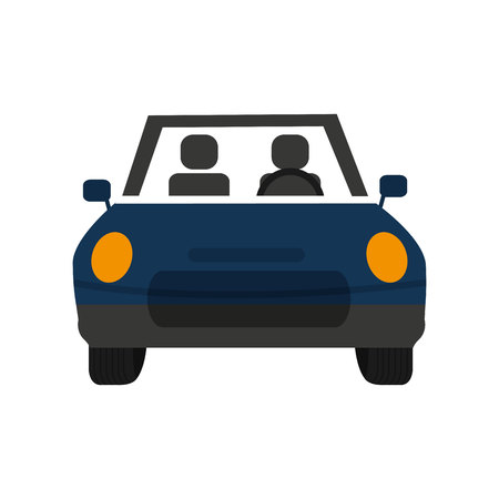 sedan: car auto vehicle isolated icon vector illustration design