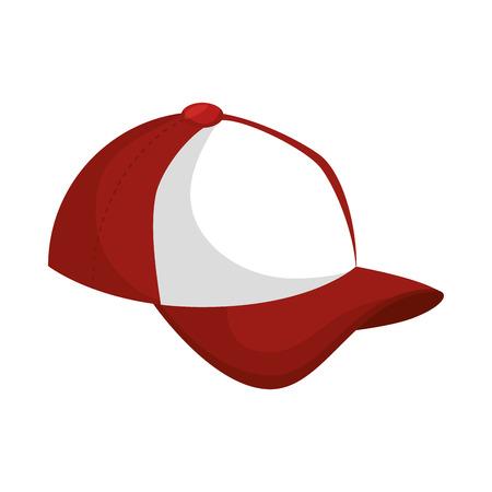 baseball cap icon design vector illustration