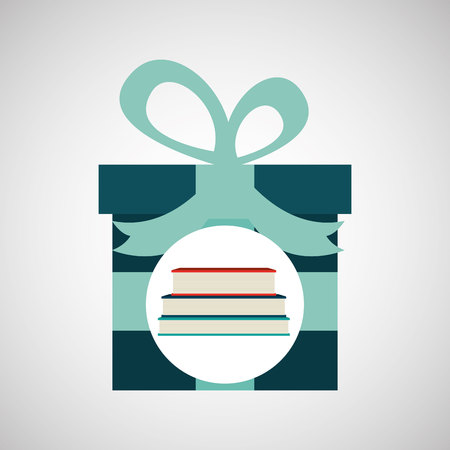 old notebook: happy fathers day with gift book vector