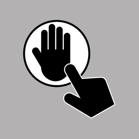 digital print: data protection smartphone digital print vector illustration eps 10