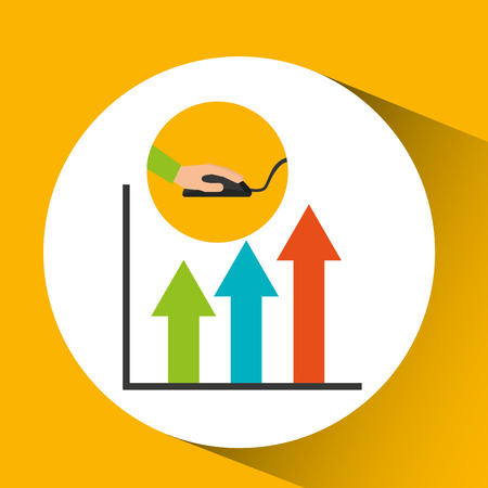 programmer software analytic graphic vector illustration