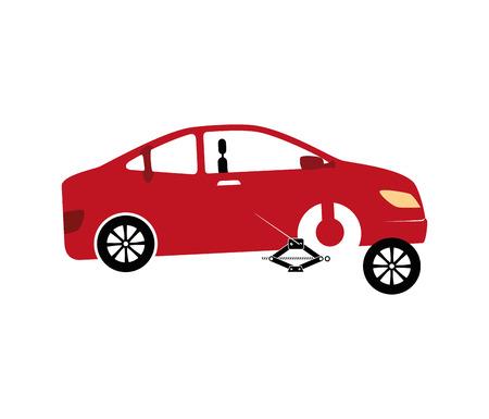 mechanic service isolated icon vector illustration design
