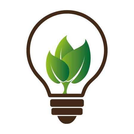 energy alternative ecology symbol vector illustration design
