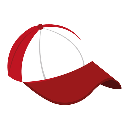 baseball cap icon design vector illustration