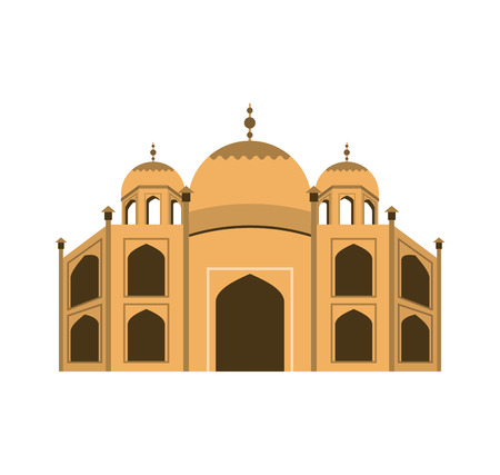 basilica: Basilica of Rome landmark icon vector illustration design