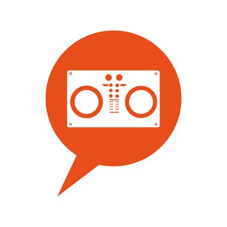 audio console professional icon vector illustration design Illustration