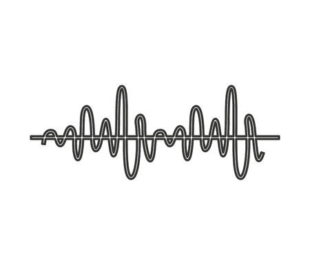 equalizer audio isolated icon vector illustration design Illustration