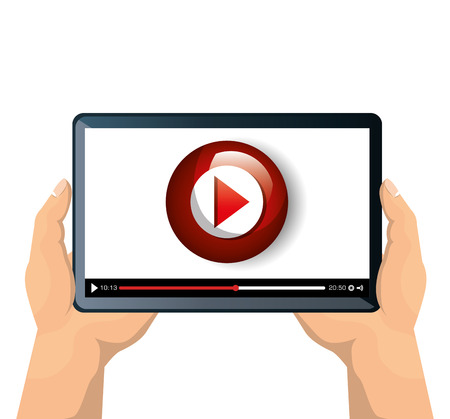 streaming: live streaming concept isolated icon vector illustration design Illustration