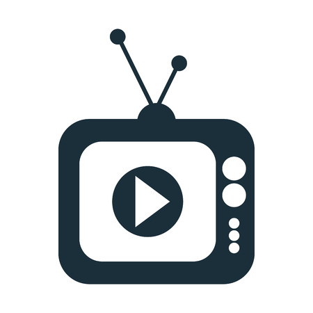 live streaming concept isolated icon vector illustration design Illustration