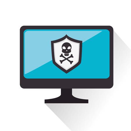 security alarm: security alarm symbol icon vector illustration