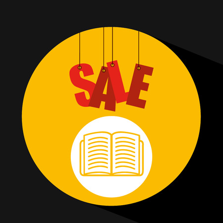 shopping cart sale book icon vector illustration eps 10