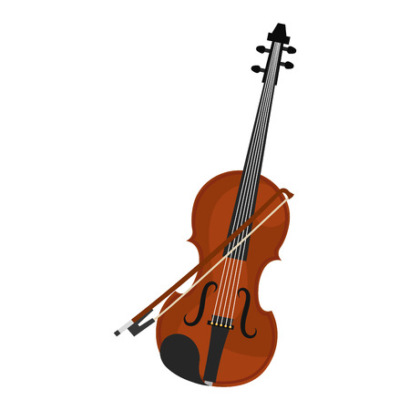 cello instrument musical icon vector illustration design