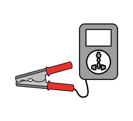 Current cable clamps icon vector illustration design Фото со стока - 68807853