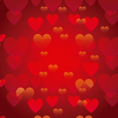 heart health: red hearts background. love colorful design. vector illustration