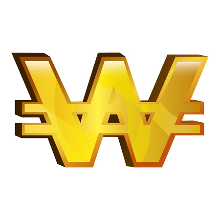 won money gold icon vector illustration design