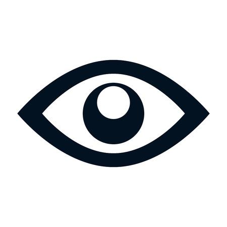 eye symbol isolated icon vector illustration design