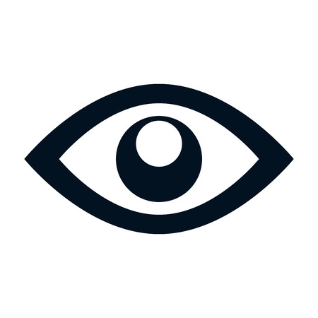 eye symbol isolated icon vector illustration design