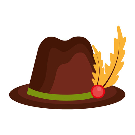 tirol: hat germany isolated icon vector illustration design Illustration