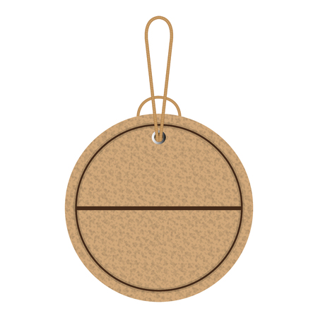 commercial carton board tag vector illustration design Illustration