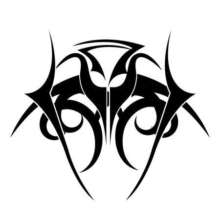 tribal ethnic tatto icon vector illustration design