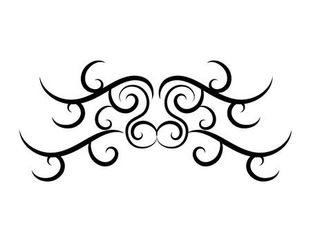tatto: tribal ethnic tatto icon vector illustration design