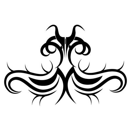 tribal ethnic tattoo icon vector illustration design Illustration