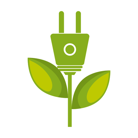 plug adapter: energy plug isolated icon vector illustration design
