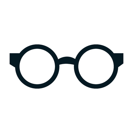 reading glasses: reading glasses isolated icon vector illustration design