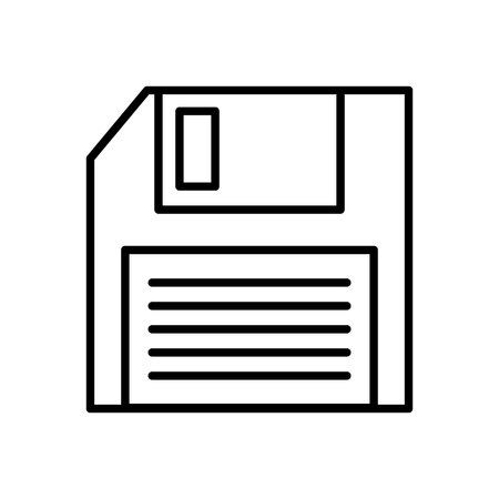 floppy: floppy disk isolated icon vector illustration design