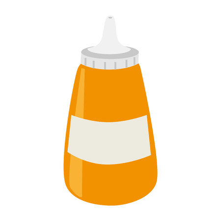 sause bottle isolated icon vector illustration design