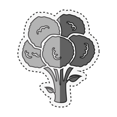 ripe: fresh vegetable isolated icon vector illustration design